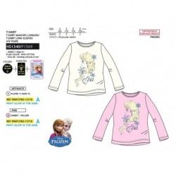 Camiseta ml fosforescente 100%algodon-SCI-HS1340-FROZEN
