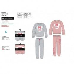 Pijama largo coralina minnie-SCI-RH3530-MINNIE