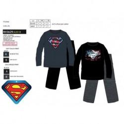 Pijama largo jersey superman-SCI-RH3629-SUPERMAN