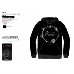 Sudadera c/ capucha juego tronos-SCI-RH9957B.F00-GOT-GAME OF THRONES
