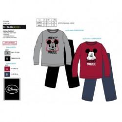 Pijama largo coralina mickey-SCI-RH3618-MICKEY