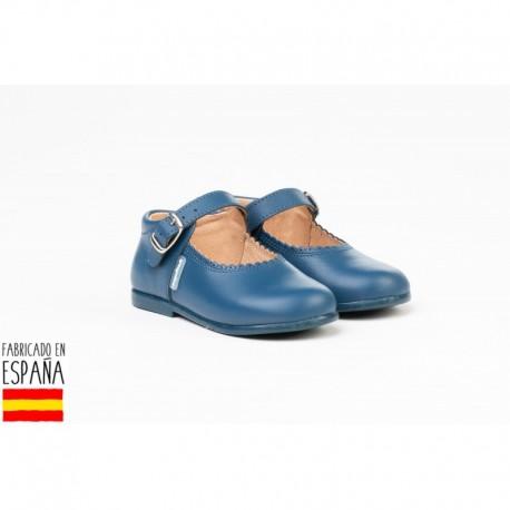 ANGI-500 mayorista de calzado infantil Merceditas piel lisas