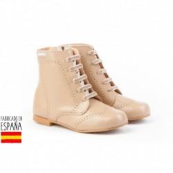 ANGI-600 mayorista de calzado infantil Pascualas de piel, made