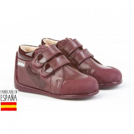 ANGI-606 mayorista de calzado infantil Inglesitos piel cierre