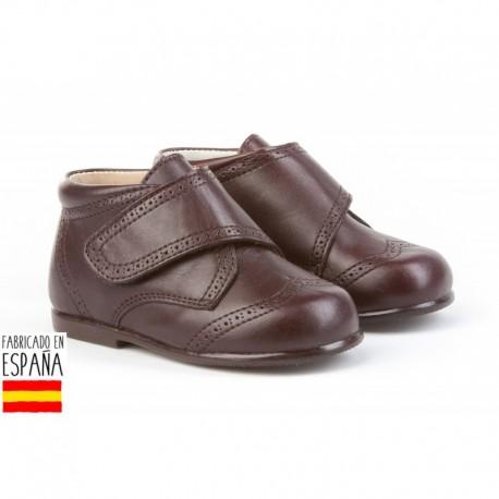 ANGI-632 mayorista de calzado infantil Inglesitos piel