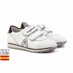 ANGI-900 mayorista de calzado infantil Deportivas piel de