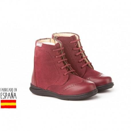 ANGI-1003 mayorista de calzado infantil Pascualas de piel