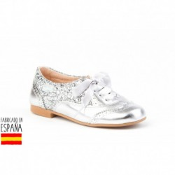 Mocasines glittler cierre cordones, made in spain - ANGELITOS - ANGI-1396