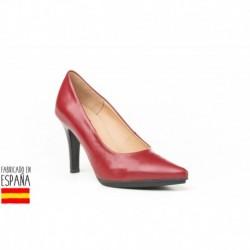 Zapato tacón clásico de piel, made in spain - EVA MAÑAS - ANGI-1500
