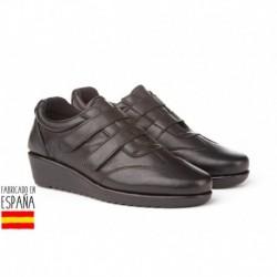 Mocasín de piel calzado extra cómodo, made in spain - EVA MAÑAS - ANGI-2918