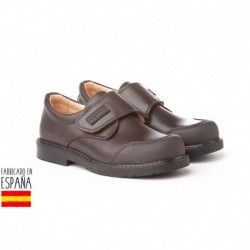 Colegiales cierre velcro con puntera reforzada, made in spain - ANGELITOS - ANGI-452-1