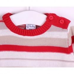 Jersey manga larga punto 60% algodón 40% acrilico