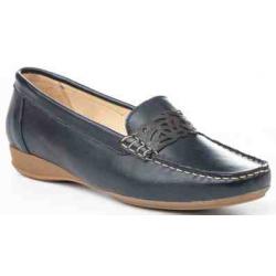 Naúticos de piel, calzado extra cómodo, made in spain - EVA MAÑAS - ANGI-3364