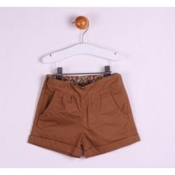 Pantalon corto popelin