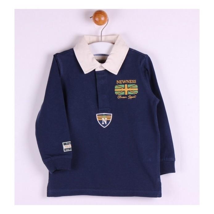 TMBB-JBI04249 Newness ropa infantiil al por mayor Polo algodón