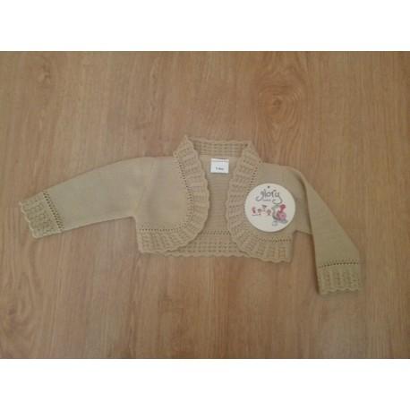 Comprar ropa de niño online Torera manga larga sin