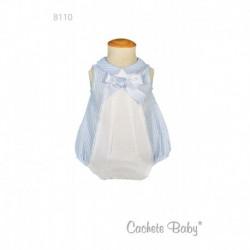 Comprar ropa de niño online Ranita detalle maxi lazo-ALM-8110