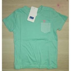 Camiseta con un pequeño bolsillo-ALM-72180