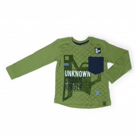 Comprar ropa de niño online Camiseta con dibujo-ALM-281127