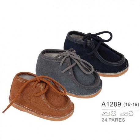 Comprar ropa de niño online Calzado bebé niño piel-ALM-A1289