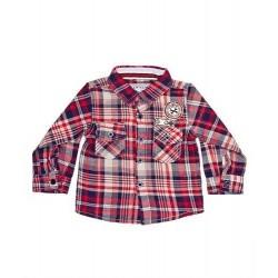 Camisa a cuadros-ALM-BBI02159