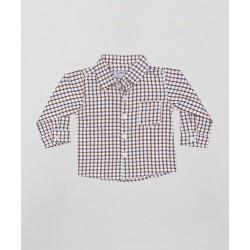 Camisa a cuadros-ALM-BBI02165