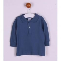 Comprar ropa de niño online Polo basico algodón manga