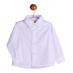 Camisa popelin manga larga básica-ALM-BBI04015