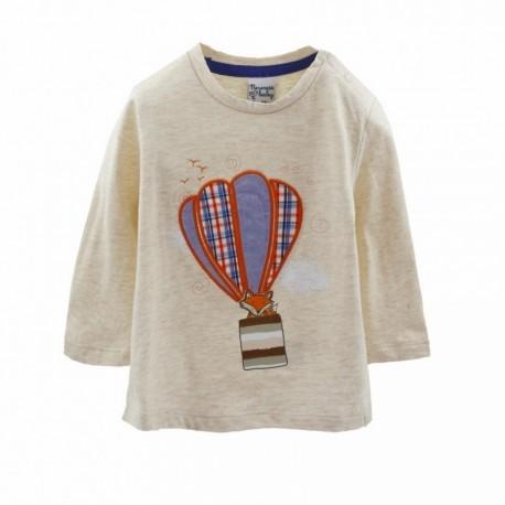 Comprar ropa de niño online Camiseta con un globo