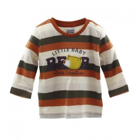 Comprar ropa de niño online Camiseta con palabras-ALM-BBI05019