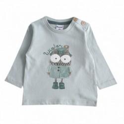 Camiseta con búho-ALM-BBI67068