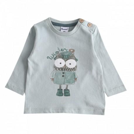 Comprar ropa de niño online Camiseta con búho-ALM-BBI67068