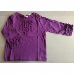 Camiseta manga larga detalle puños y pechera-ALM-BGI01302
