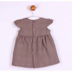 Vestido manga corta-ALM-BGI03520