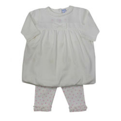 Conjunto camiseta manga larga y pantalon 100% algodon-ALM-BGI03607