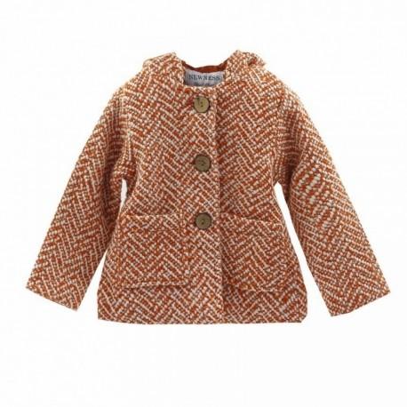 Comprar ropa de niño online Abrigo paño caldero cierre