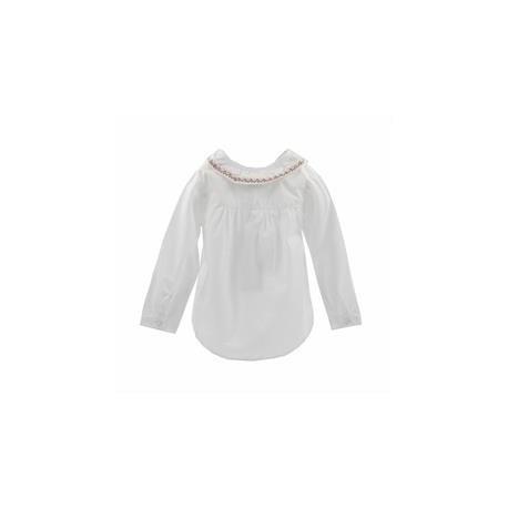 Comprar ropa de niño online Camisa manga larga detalle cuello y
