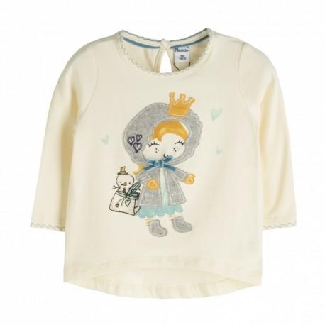 Comprar ropa de niño online Camiseta manga detalle dibujo larga