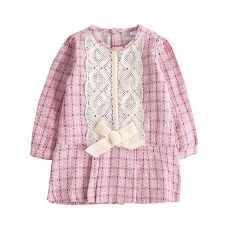 Comprar ropa de niño online Vestido manga corta-ALM-BGI97529