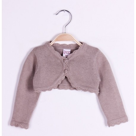 Comprar ropa de niño online Torera manga larga-ALM-BGV03570