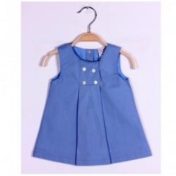 Vestido manga corta-ALM-BGV04507