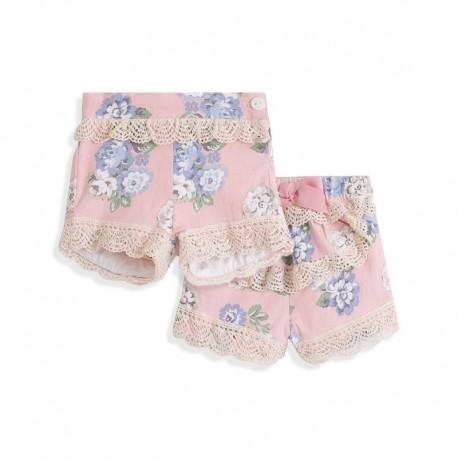 Comprar ropa de niño online Pantalón corto para vestir detalle