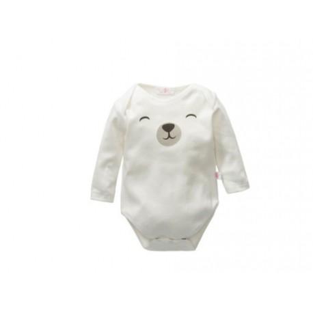 Comprar ropa de niño online Body algodon manga larga detalle