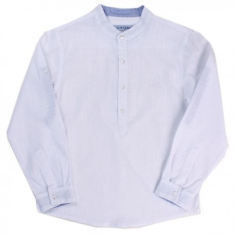 Comprar ropa de niño online Camisa bebé invierno cuello