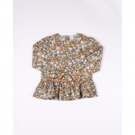 Comprar ropa de niño online Blusa estampado flores-ALM-DDT3100