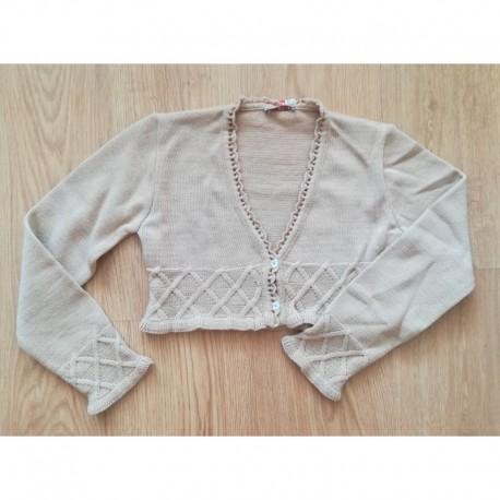 Comprar ropa de niño online Torera de punto detalle