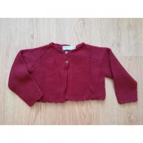 Comprar ropa de niño online Torera de punto bajo