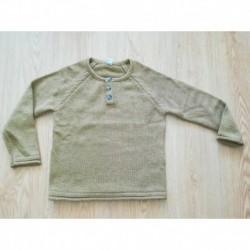 Jersey de punto cuello con botones-ALM-DDT4040