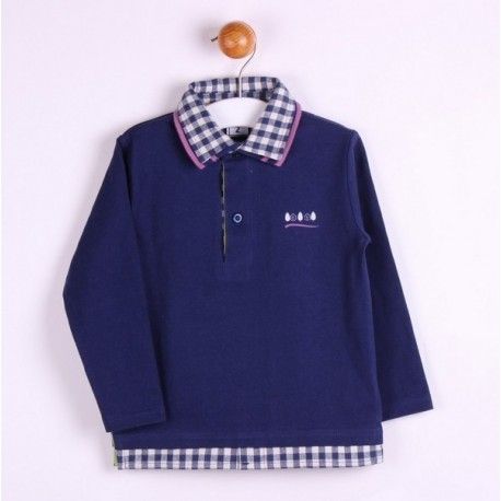 Comprar ropa de niño online Polo básico-ALM-JBI04261