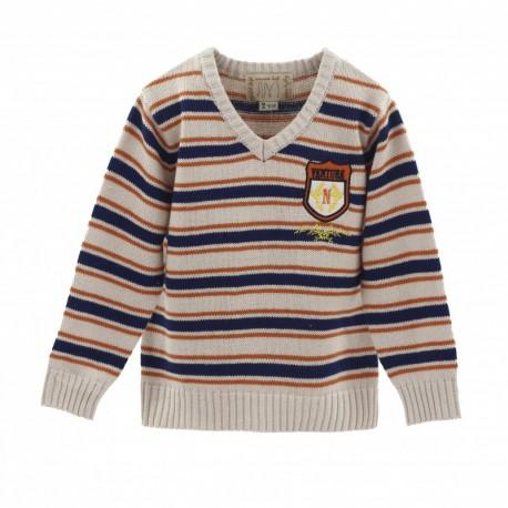 Comprar ropa de niño online Jersey básico-ALM-JBI05246